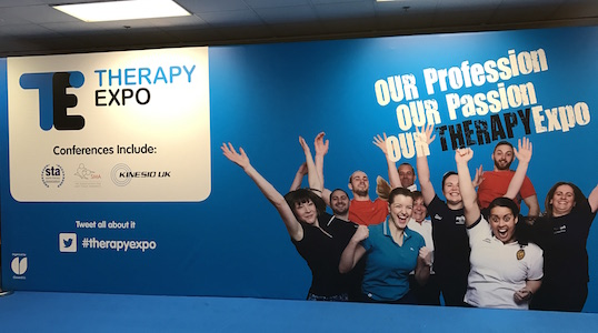 Therapy Expo banner